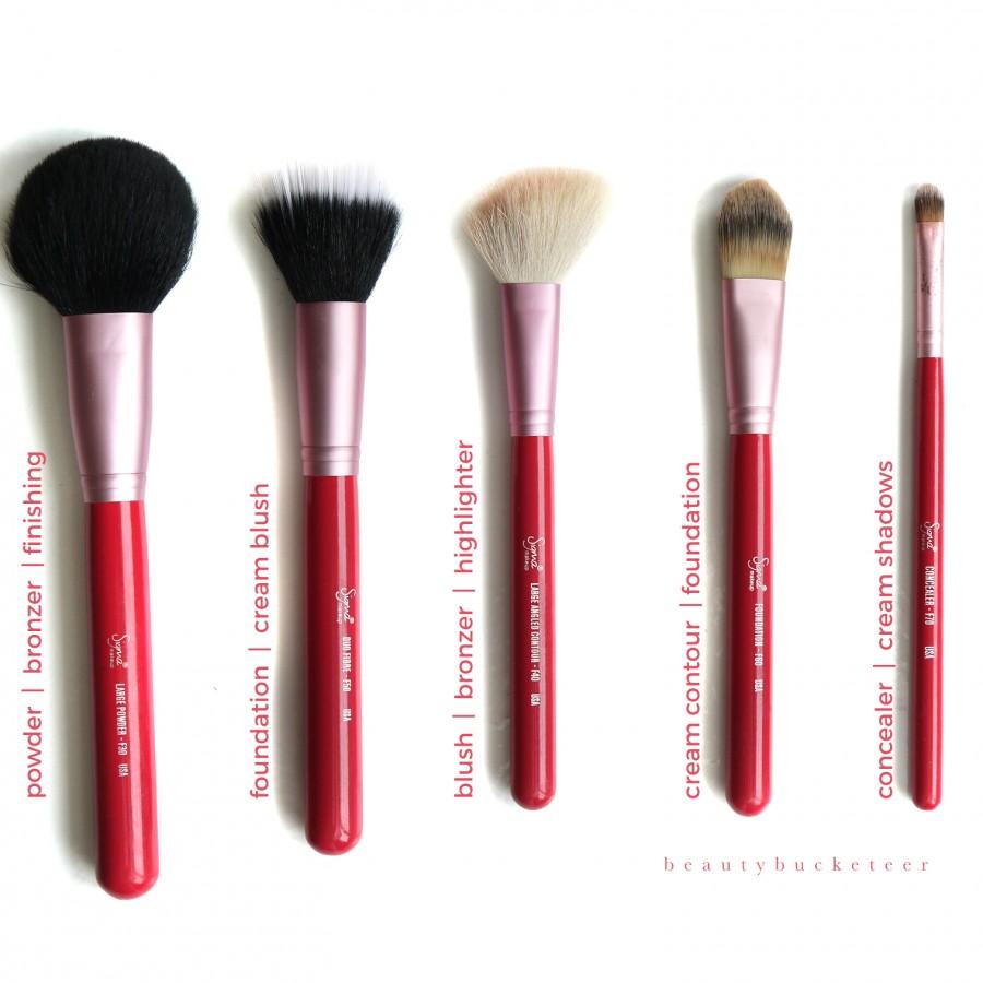 Sigma Brush Set Pink (3)
