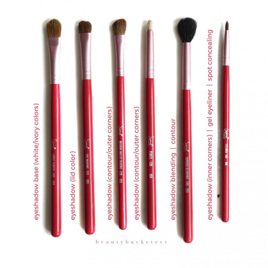 Sigma Brush Set Pink (4)