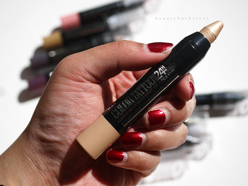 Maybelline Color Tattoo Crayon Review