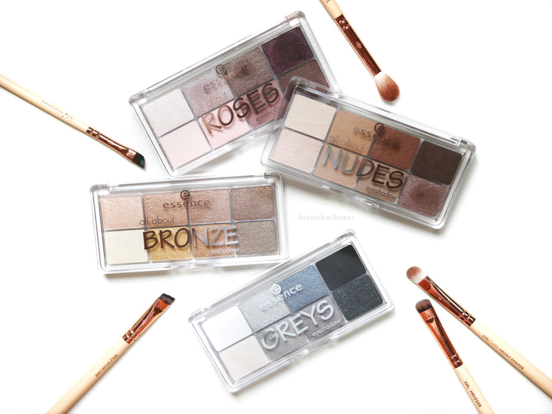 Beauty Bucketeer - Essence All About Eyeshadow Palettes Review ...