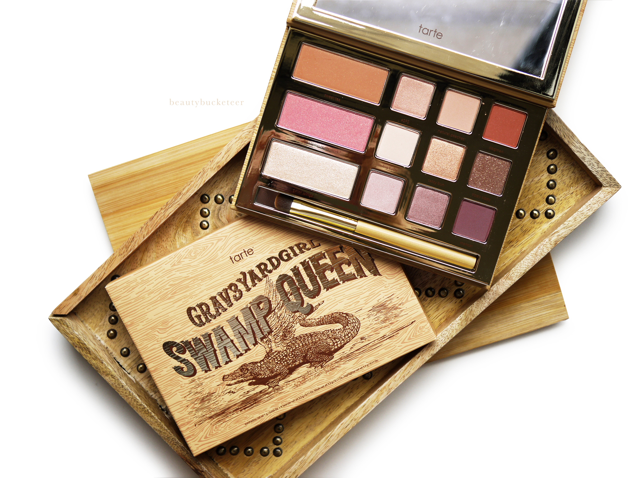 beauty bucketeer tarte swamp queen palette review. Black Bedroom Furniture Sets. Home Design Ideas